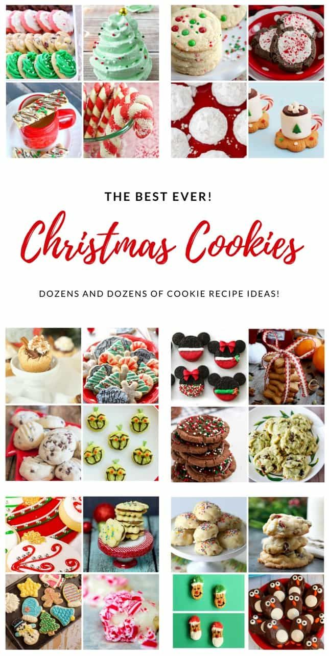 The Best Ever Christmas Cookies | Dozens and dozens of delicious Christmas Cookie Recipe ideas!