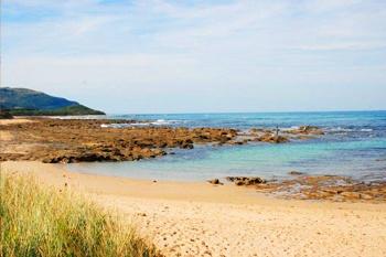 Enjoy a beach stroll