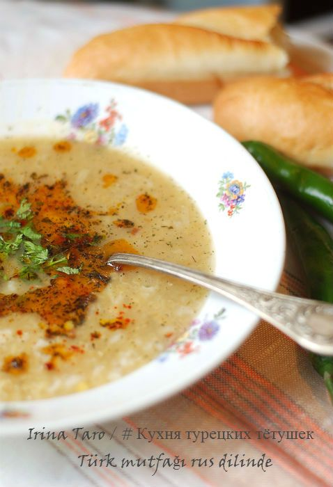 Кухня турецких тетушек : Суп Махлюта от бабушки Незакет / Nezaket'in Mahluta Çorbası