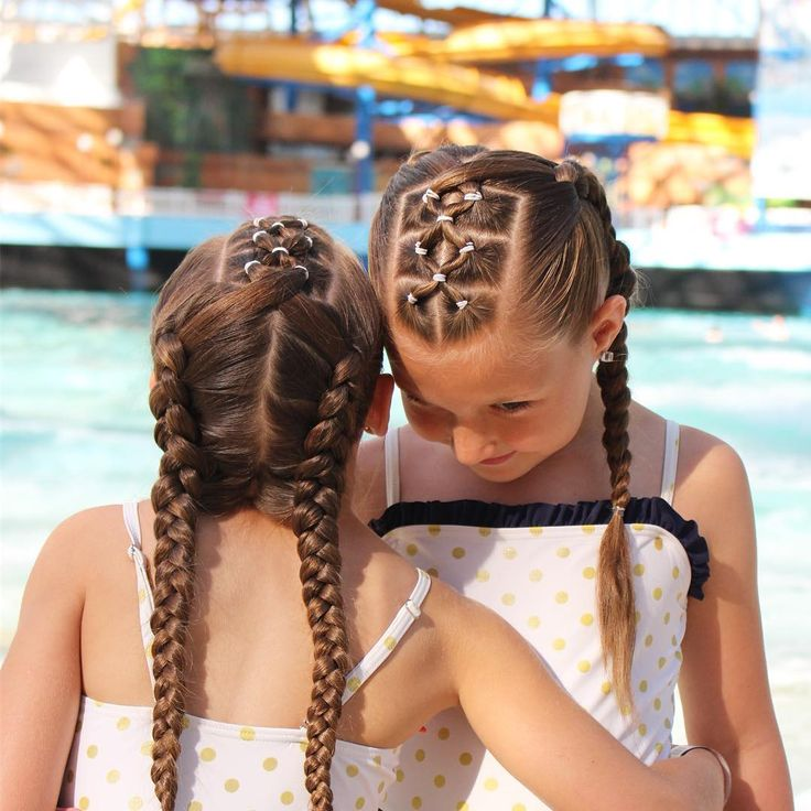 Water park hair!  trying to fit in as much summer as we can before school starts again!