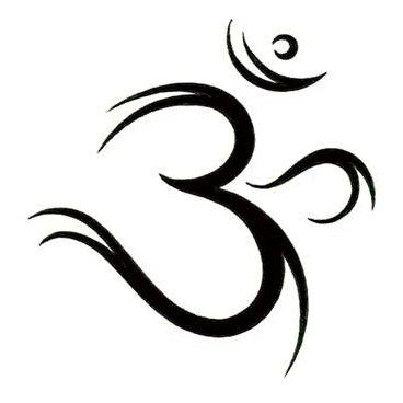 Ohm Symbol Tattoo Design
