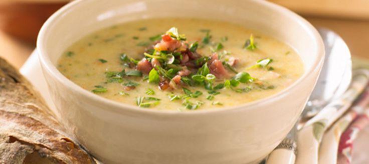 Cremet høstsuppe