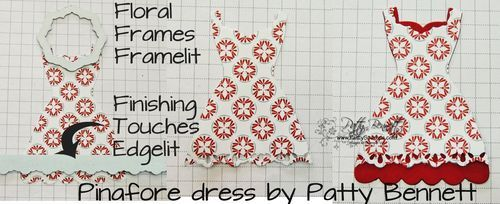 how to alter Dress Up framelits - pinafore