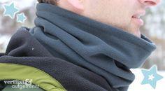 kostenlose Anleitung Loop-Schal für Männer