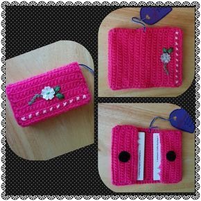 Crochet Phone Holder