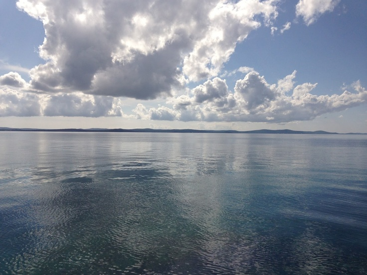 Beautiful skyline on the island of Vir in Croatia. #croatia #vir #dalmatia #dalmacija #hrvatska