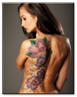 Tattoos for girls – It is in the very nature of females to adorn themselves to increase their beauty and appeal. Apart from the other methods of beautification, the art of making tattoos is a very widely used way to adorn the body. Tattoos for girls can be made in different places to serve different purposes.: Girls Tattoo Design, Tattoo Ideas, Flowers Tattoo, Side Tattoo, Body Art, Tattoo Girls, Full Back Tattoo, Tattoo Ink, Floral Tattoo