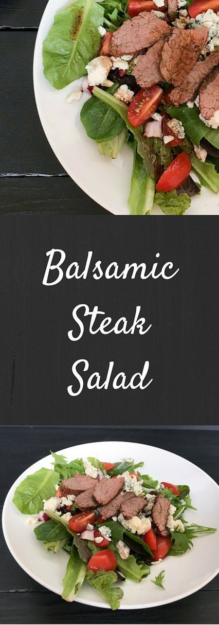 Balsamic Steak Spring Mix salad is a perfect meal. Have this savory, tangy steak salad recipe for lunch or dinner
