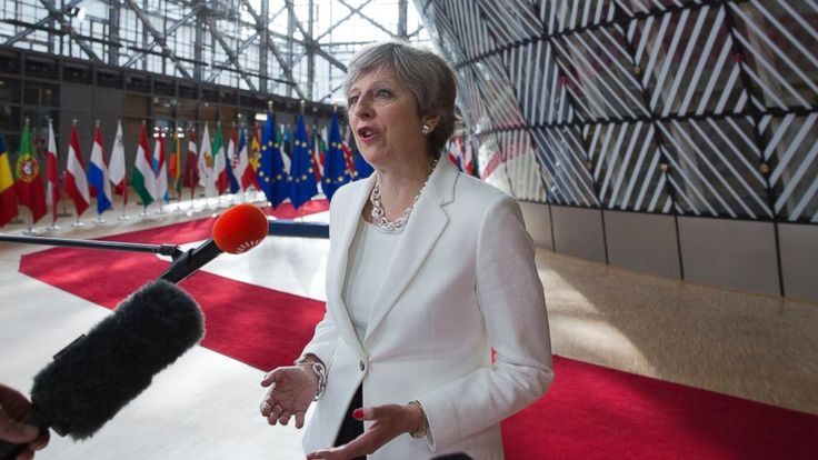 """British Prime Minister Theresa May is seeking to reassure European Union nationals living in her country that their futures will be secure once Britain leaves the EU in 2019.  May told reporters Friday that """"no one will have to leave. We won't be seeing families split apart... - #Br, #Citizens, #EU, #Reassure, #Seeks, #Stay, #TopStories, #UK"""