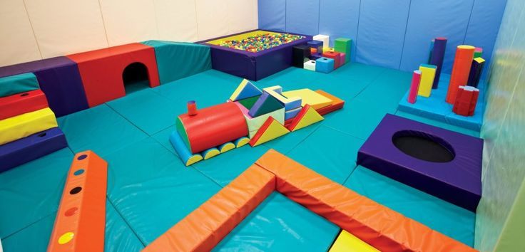 Another cool Gross Motor Play Room