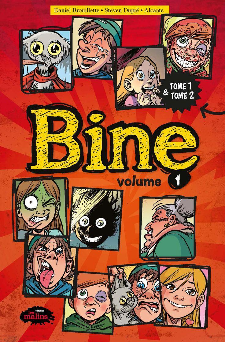 Bine Volume 1 - Tome 1 et 2 - Daniel Brouillette / Steven Dupré / Alcante - 96 pages, Couverture souple. Illustrations en couleurs.  Série / Collection : BD - Bine -   Age : 13 ans et + -   Référence : 00907710 #Enfants #Adultes #Livre #Lecture #Cadeau #Vacances #BandesDessinees #BD
