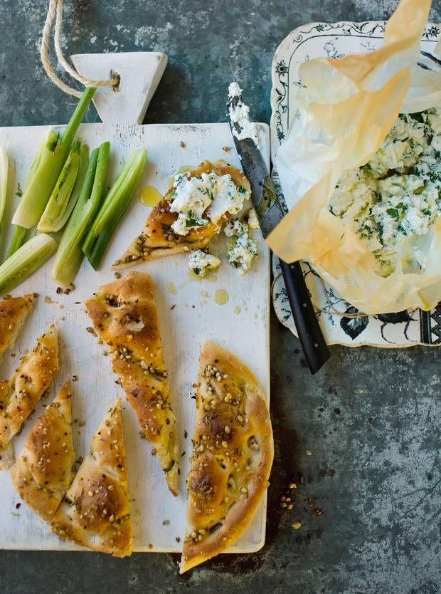 ricotta bill granger aussie food flatbread recipes life styles bill ...