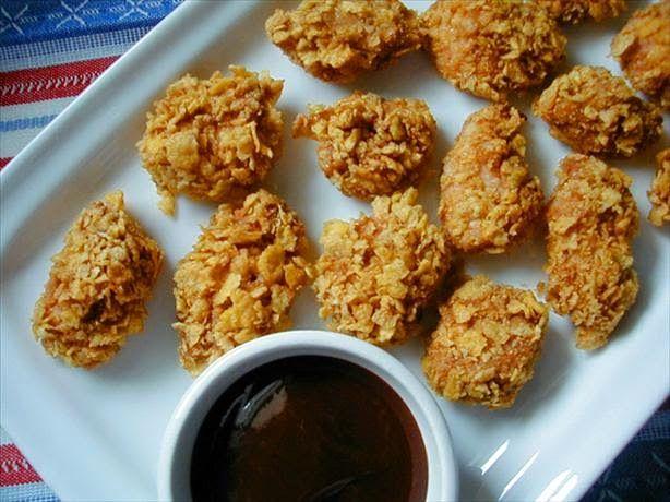 Miss Baksel/Eekma: Huisgemaakte Kipnuggets uit de oven!