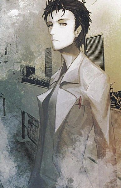 Steins;Gate, Okabe Rintarou I loved this anime so much, and he's adorable