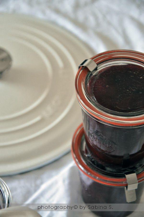 Due bionde in cucina: Marmellata di prugne con zenzero