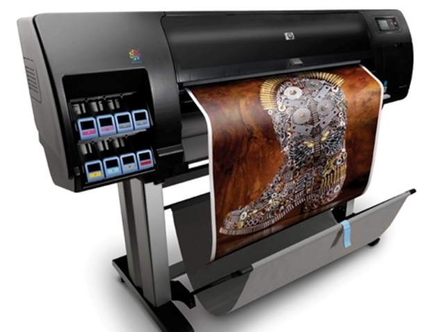 The HP Designjet Z6200 Photo/Graphics Printer delivers photo-quality prints with a resolution of 2,400dpi and versatility for indoor applications from line drawings to photographic output to signage. It is also 50 percent faster than its predecessor with speeds up to 140m2/hr (1,500 ft2/hr). Offer impressive backlit signs and POP displays and exceptionally fade-resistant prints. With chromatic red, HP Vivid Photo Inks create a wide color gamut with vibrant color and deep, rich blacks.