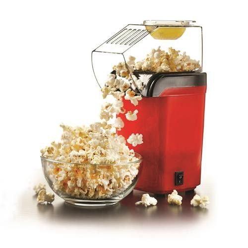 * Upright Popcorn Maker * Pops using hot air * One Switch Operation * Power: 1200 Watts * Approval Code: cETL