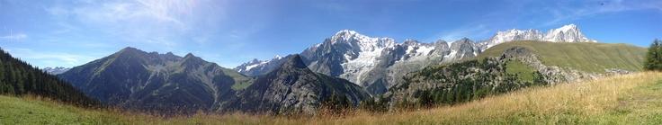 Il Monte Bianco dal Rifugio Bonatti - ago 2012