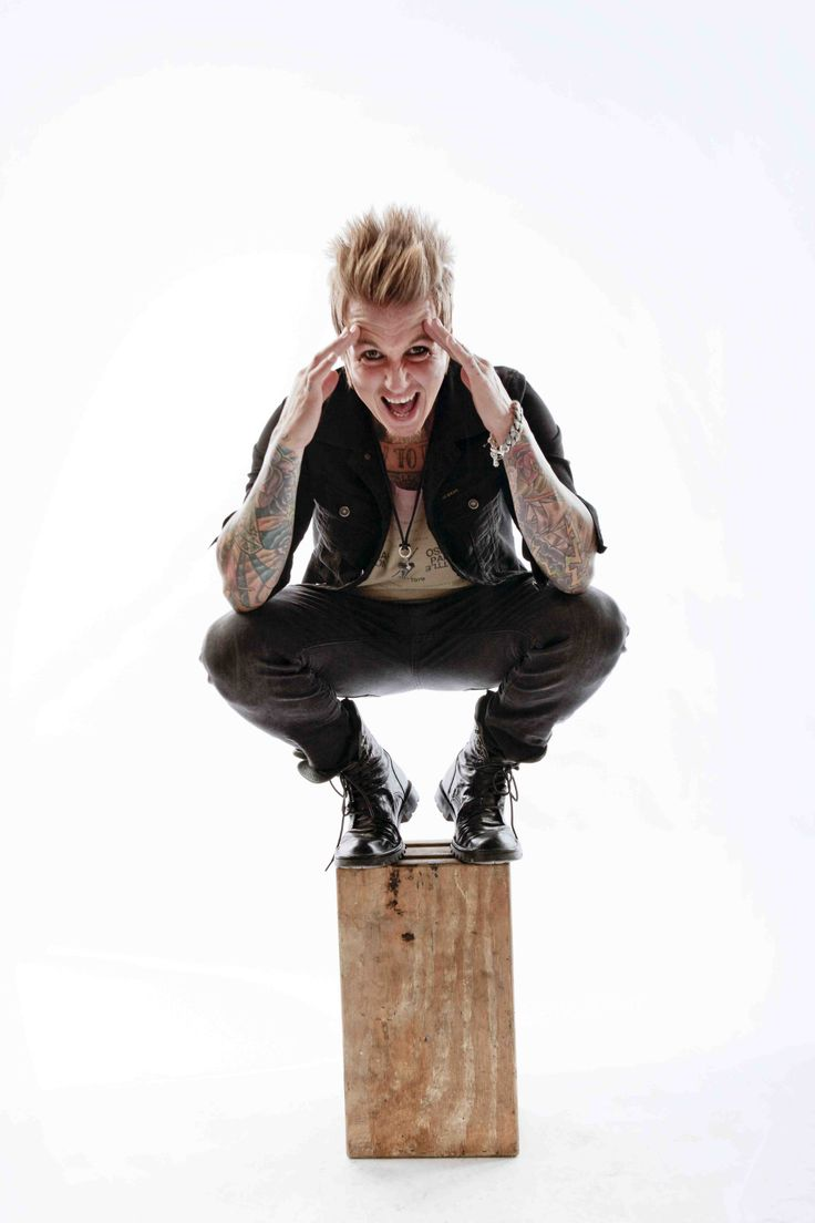 "Jacoby Shaddix, frontman for Papa Roach. Autographed CD of new album ""The Connection"" giveaway here..."