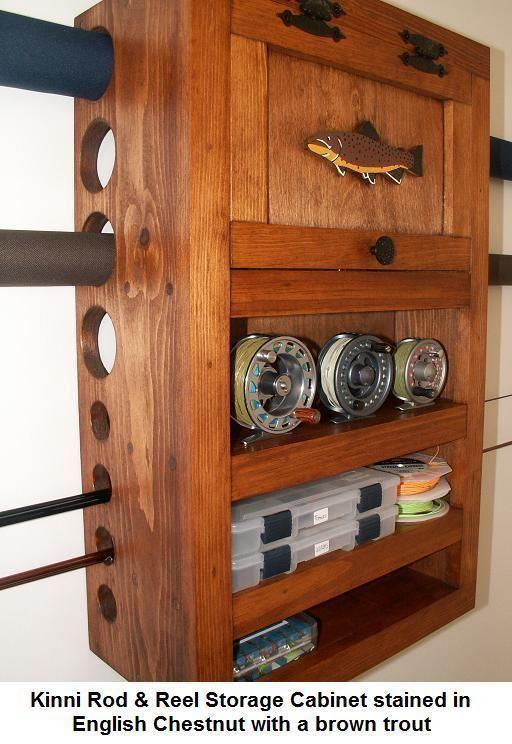 Fly Rod & Reel armario de almacenamiento Brook marrón Salvaje Arco Iris de trucha Trucha in Artículos deportivos, Pesca, Equipo de pesca | eBay
