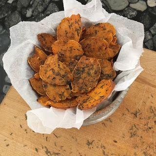 MAJA ELDERS: Sweet Potato Chips