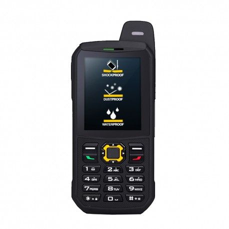 Telefon Rezistent i4 - Dual SIM, 2GB, Radio FM, 3200mAh, IP68