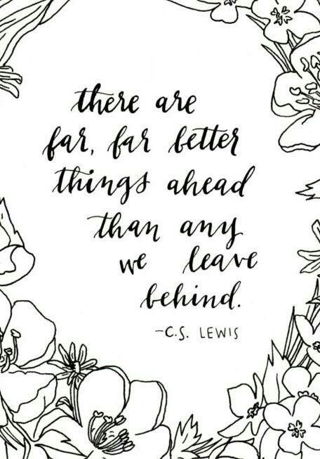 Far better things...