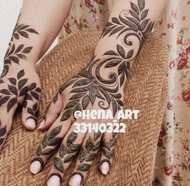 Black Henna Tattoo Dubai: Pin By Ashna Mundhra On Heena Designs ♥♥