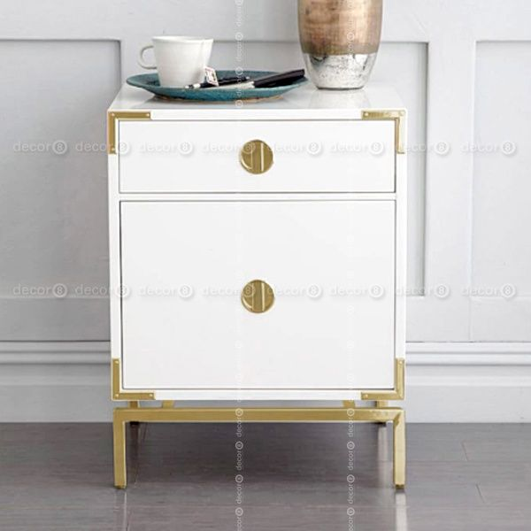 Melville Nautical Side Table And Night Stand Table White Side Tables White Furniture