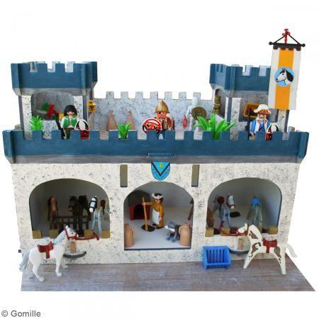 Kit Castillo Fortaleza de madera para decorar - Fotografía n°2