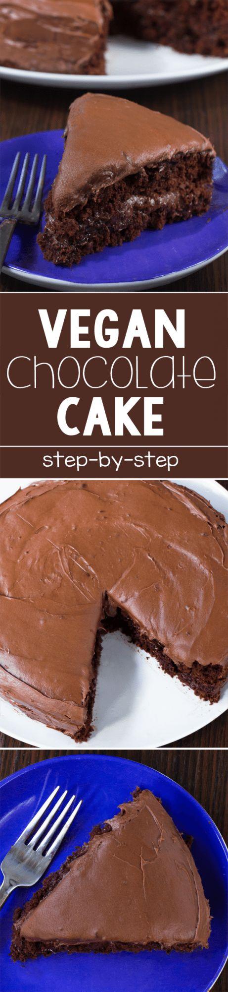 Make This Epic Vegan Chocolate Cake