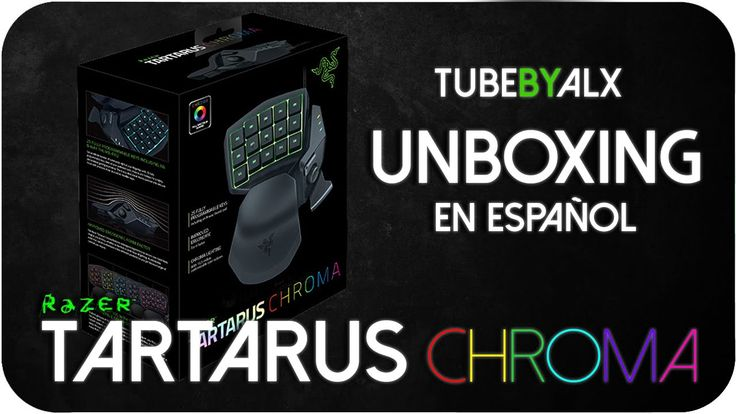 awesome Unboxing en Español // RAZER TARTARUS CHROMA Check more at http://gadgetsnetworks.com/unboxing-en-espanol-razer-tartarus-chroma/