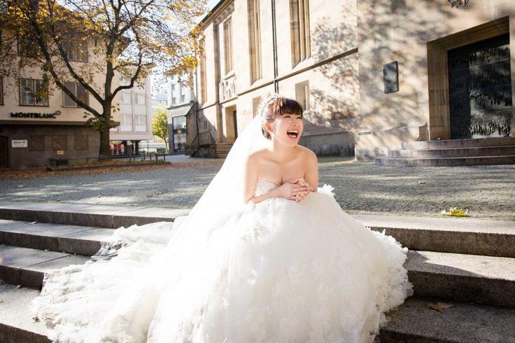 幸せが溢れる笑顔! | 【写真】福原愛のウェディングドレス姿が天使すぎる 幸せが伝わる5枚の写真