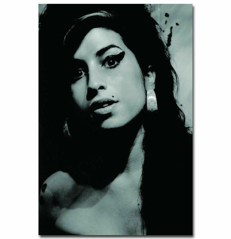 Amy Winehouse Classic Music Singer Silk Poster Art Print Picture 12x18 24x36
