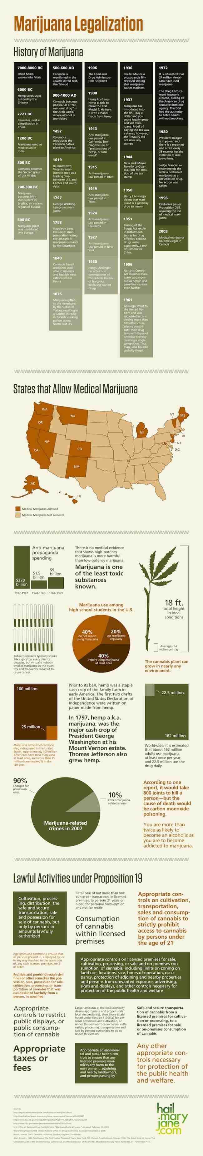 Marijuana Legalization: An Infographic | Marijuana and Cannabis News | Toke of the Town