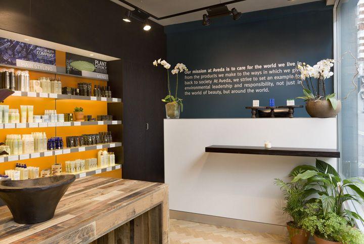 Aveda Lifestyle Salon Spa by Reis Design, London » Retail Design Blog