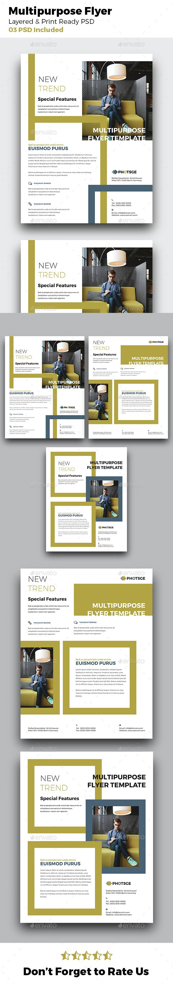 63 best creative flyers web design templates images on pinterest