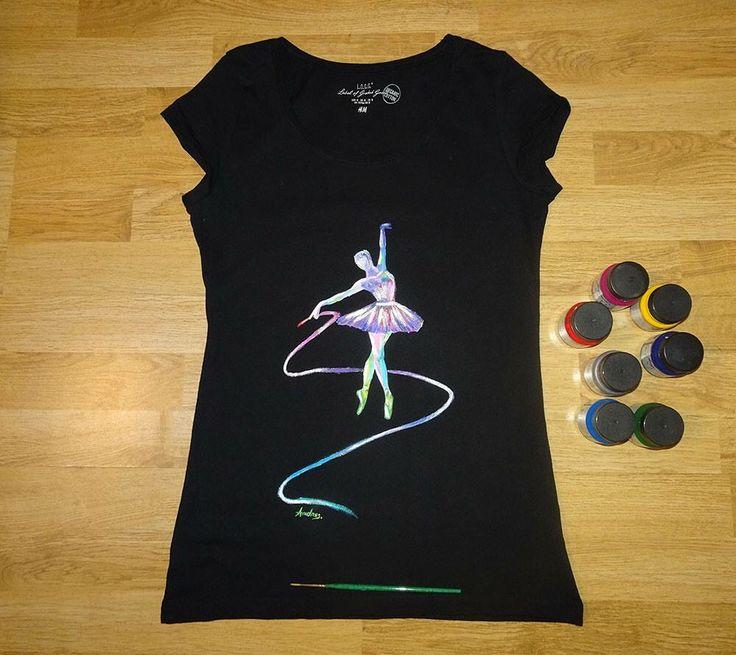 Tricou Ballerina #tricouripictate #pictatmanual