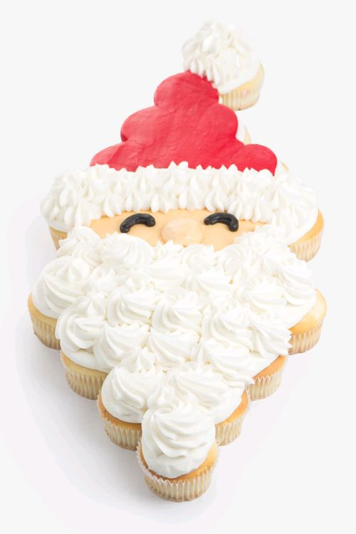 Santa cup cakes (by House of Cupcakes)