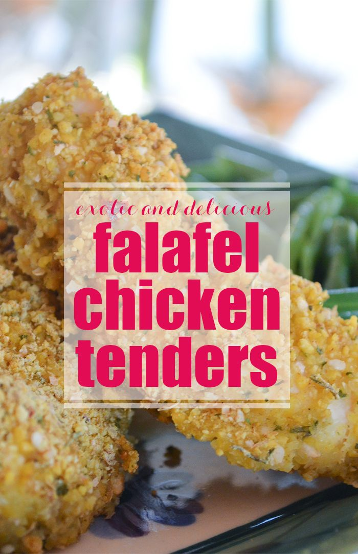 Why have ordinary chicken tenders when you can have Falafel Chicken Tenders!  Try them out.. they are a tasty alternative to the regular fare!