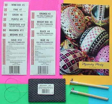 Ukrainian Eggs-Cessories, Pysanky Easter Eggs supplies