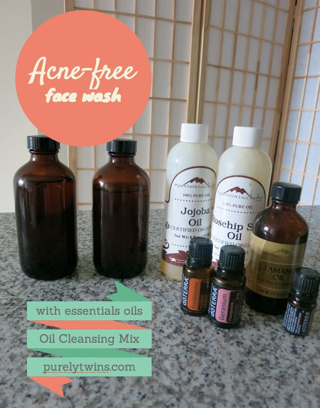 acne free face wash using essential oils oli cleansing mix