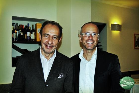 Antonio Paolini e Edoardo Fraioli