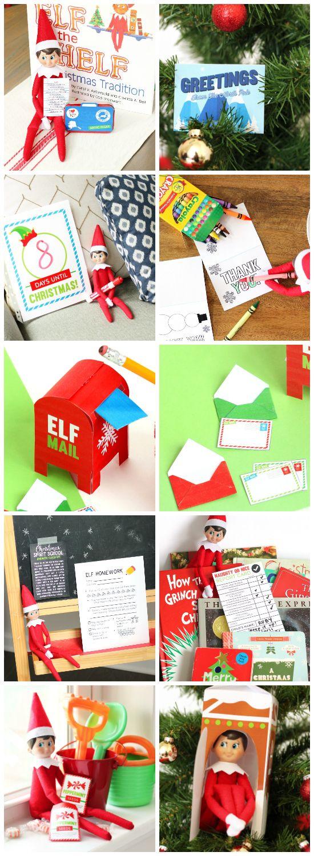 Elf on the Shelf Printables!! #ElfontheShelf #Printables
