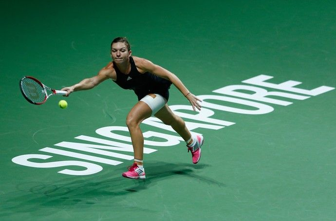 tenis simona halep wta finals (Foto: Getty Images)