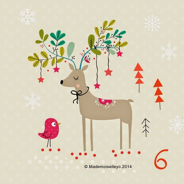 Mademoiselleyo: Advent calendar 6, 7, 8: