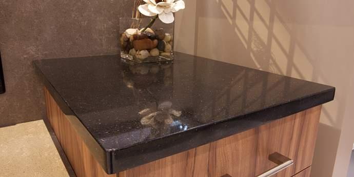 Zodiaq Mystic Black Kitchen Countertops Dupont