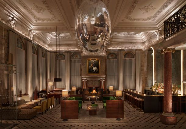 The London EDITION Lobby