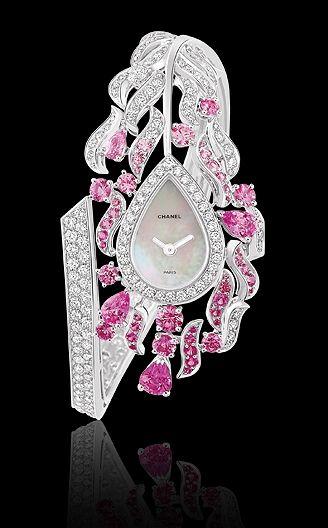 Chanel Pink Diamond Watch