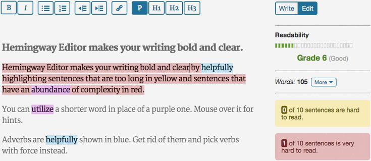 Get the Hemingway Editor for Mac and PC